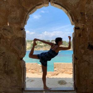 Yoga in der Natur, Tara Meier